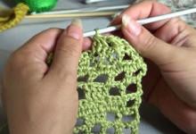 Вязание крючком. Урок 8. Столбики с общей вершиной