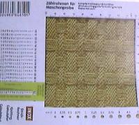 Расчет плотности вязания