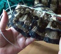 Одностороннее вязание из ленточной пряжи Bolero (видео)
