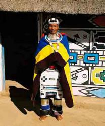 Ндебеле – африканская техника