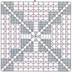 Туника из квадратов
