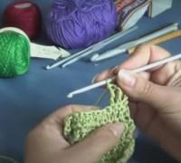 Вязание крючком. Урок 4. Столбик с двумя накидами