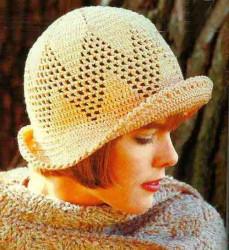 Вязаные шляпки, продолжение