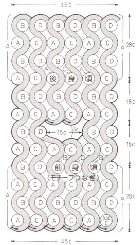 тесьмы показано на схеме