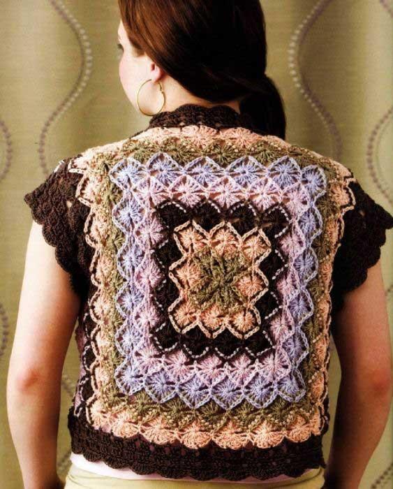Изделия баварским вязанием