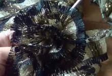 Вязание крючком из ленточной пряжи Bolero (видео)