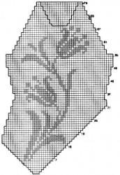 Филейный топ Лилии