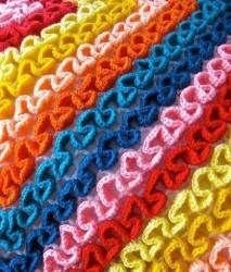 Вязание крючком. Объемное вязание по филейной сетке