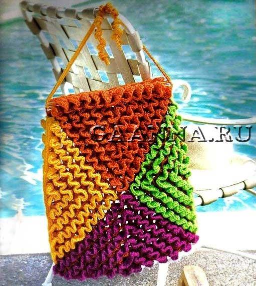 Пляжная сумка из книги