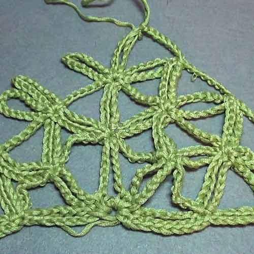 вязанию очень простой шали