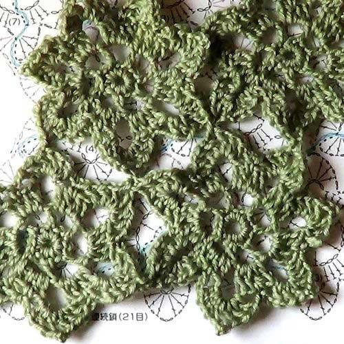 Разбираемся со схемой вязания