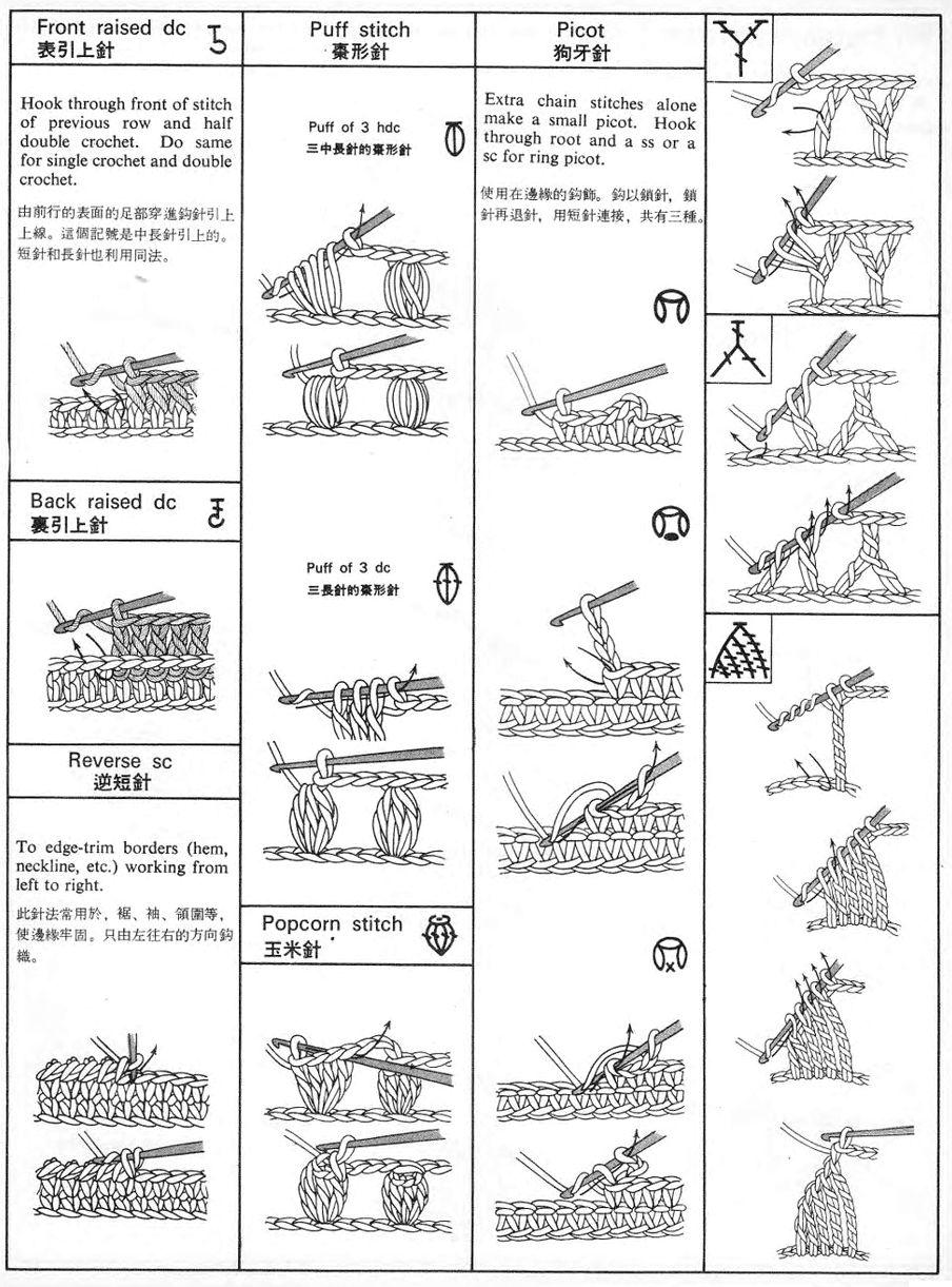 Перевод схем по вязанию с японского 231