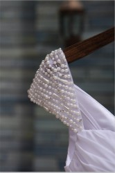 Бусины в свадебном образе