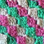 Разноцветные диагональные квадратики