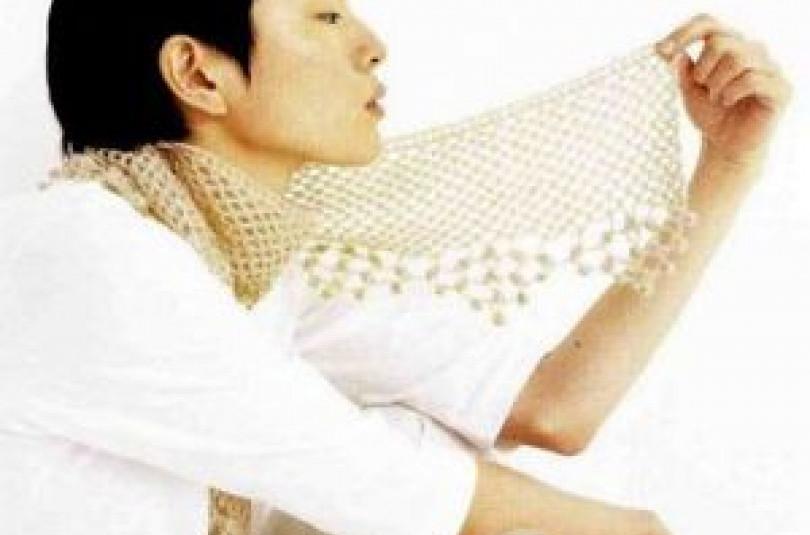 """Курс """"Вяжем шарф от японского дизайнера за 14 дней"""""""