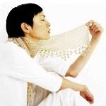 Вяжем шарф от японского дизайнера