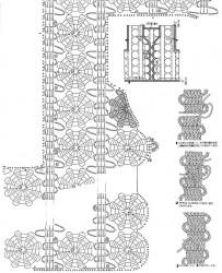 Жилет в технике брюггского кружева