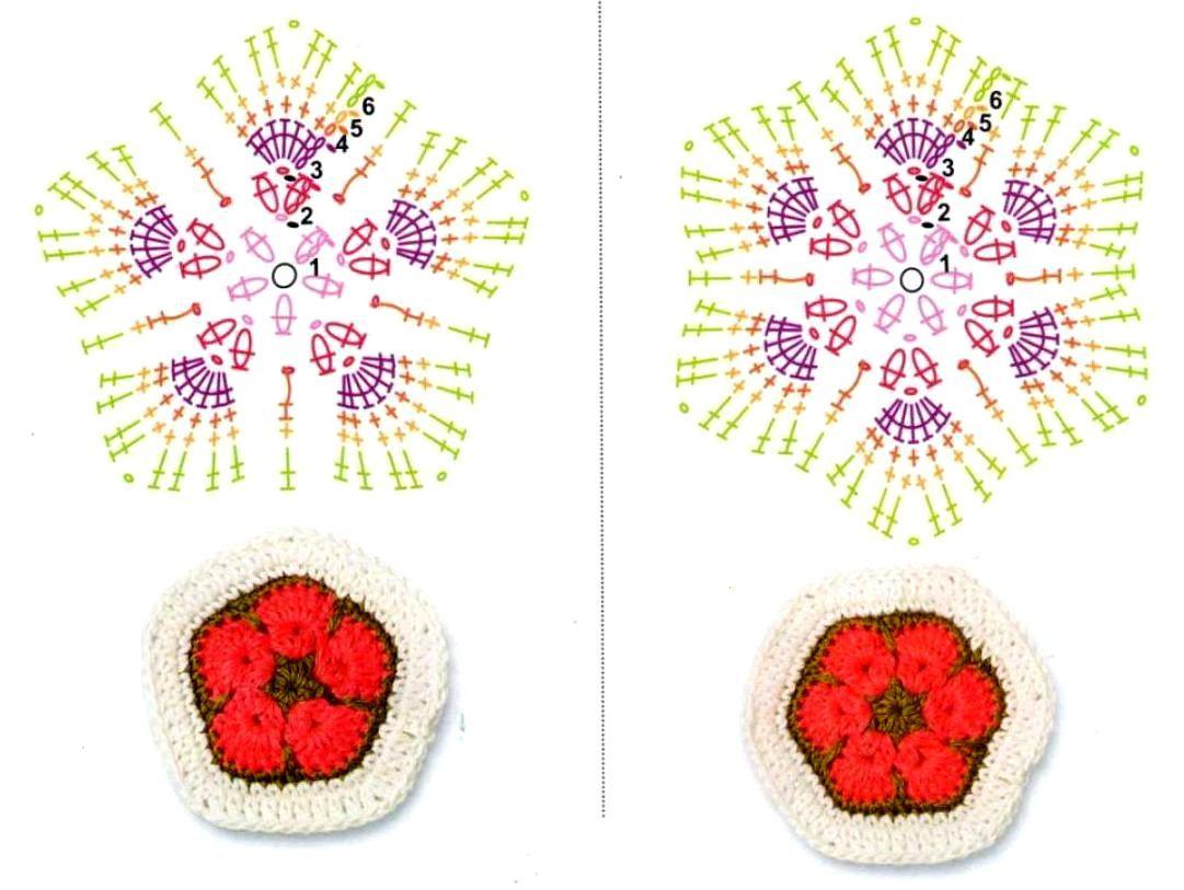 игрушки по мотивам африканский цветок схема