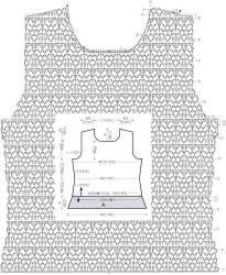 Белая ажурная блуза