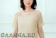 Ажурная блуза в двух размерах