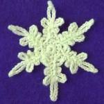 Небольшая снежинка
