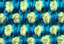 Простой двухцветный узор