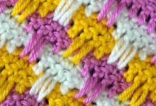 Разноцветный узор Грибочки