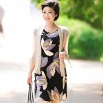 Летние платья для женщин постарше