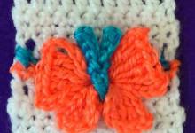 Узор Объемные бабочки