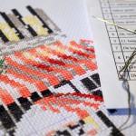 Виды нитей для вышивания крестиком