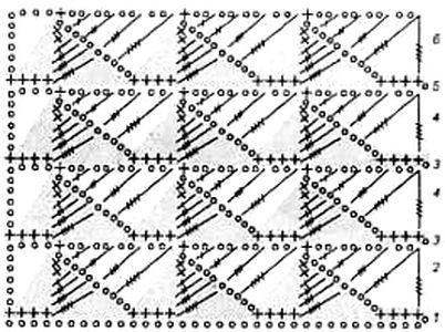 Ажурный узор Листики