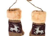 Красивые и теплые варежки – яркая деталь зимнего образа