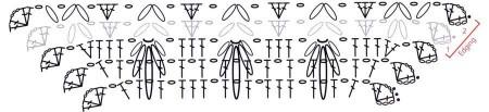 Квадратный мотив Гусиные лапки, 2 часть