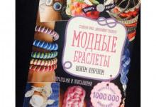 Розыгрыш книги «Модные браслеты»