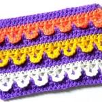 Разноцветный узор Арочки