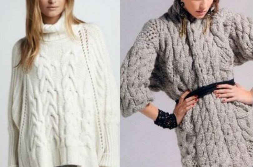 Какие изделия сегодня в моде и с чем носить популярные сейчас вязаные свитера