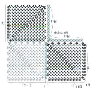 Паркетный узор из квадратиков
