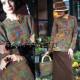 Джемпер и сумка из мотивов-уголков