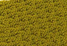 Эластичный узор с узелками