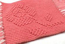 Плотный рельефный узор для коврика