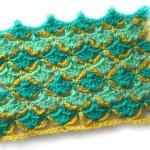 Разноцветный клетчатый узор