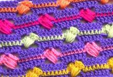 Разноцветный узор Веселые полоски