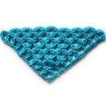 Сетчатый узор для шали