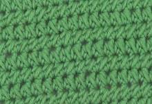 Плотный узор из полустолбиков