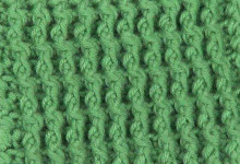 Резинка из рельефных столбиков