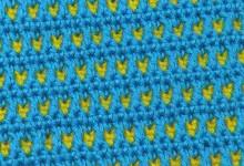 Универсальный двухцветный узор 2