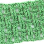 Узор Рельефная плетенка