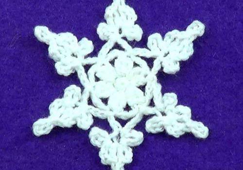 Филигранная снежинка