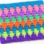 Разноцветный узор Капельки