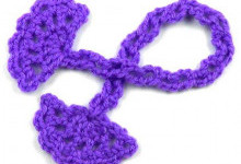Шнурок-завязка с веерочками